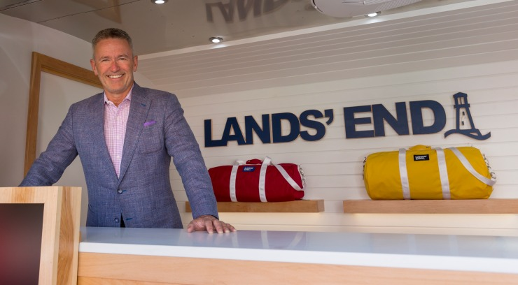 Lands' End CEO Jerome Griffith.