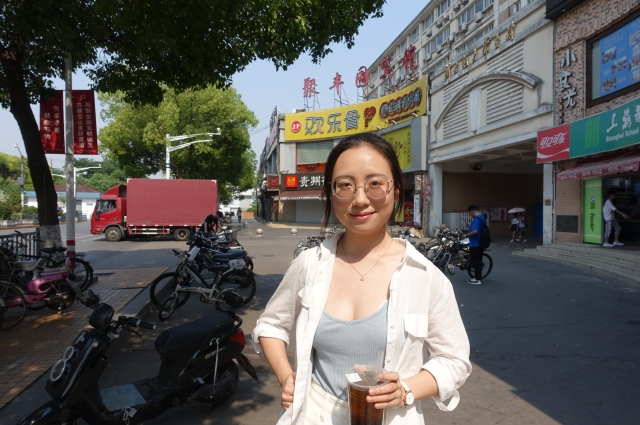 Unlike millions of young people in China, freshman Lu Xinwei is free to pursue her dream career because her parents do not depend on her to take care of them in retirement.