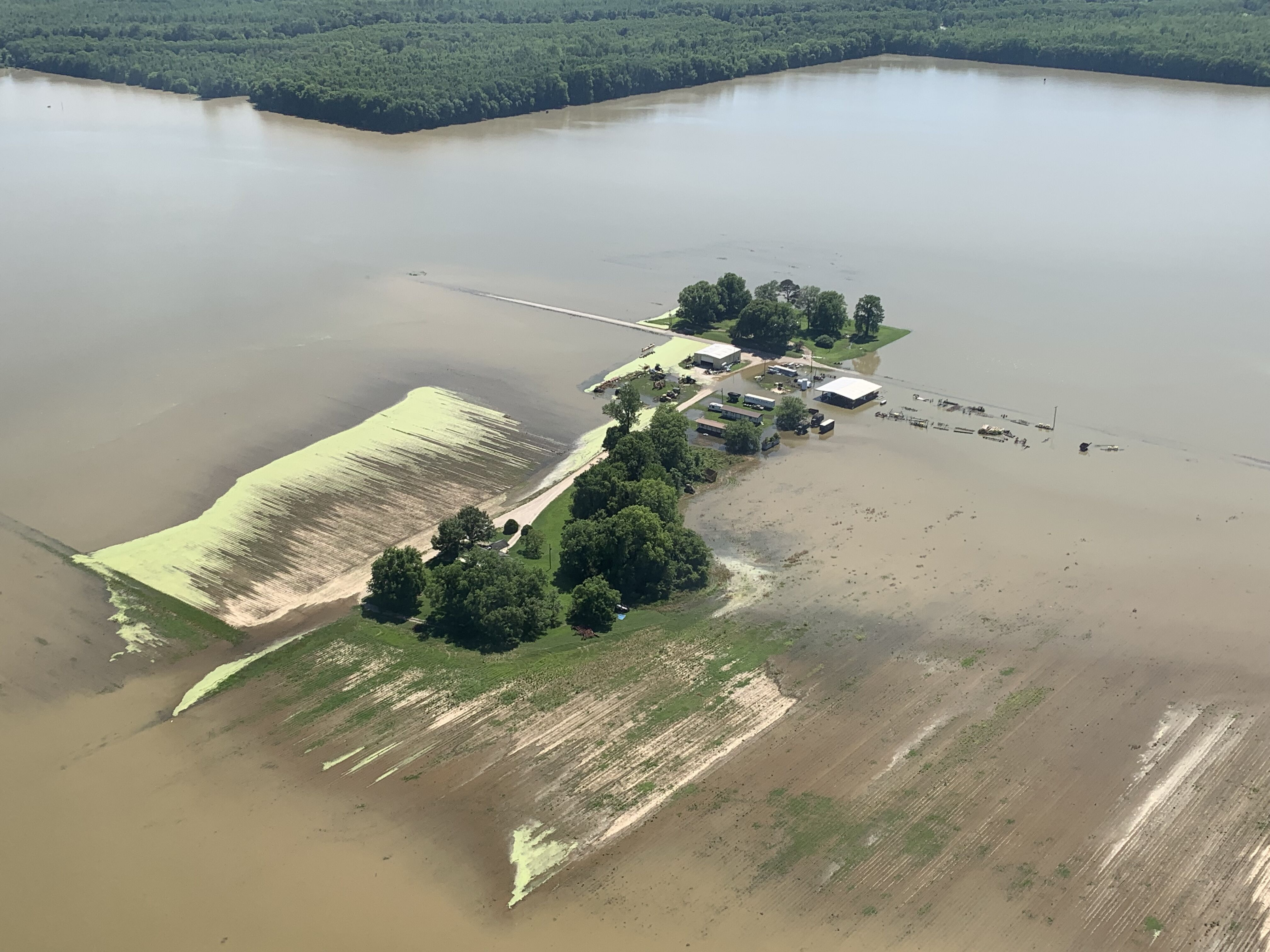 Flooding leaves Mississippi farmers with fields unplanted - Marketplace