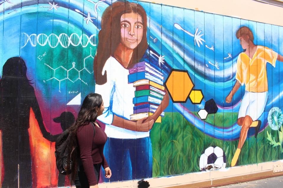 This student, an undocumented immigrant in San Jose, California, is heading off to college. Counselors say other students without legal status see no reason to go on to higher education because their job opportunities are limited.