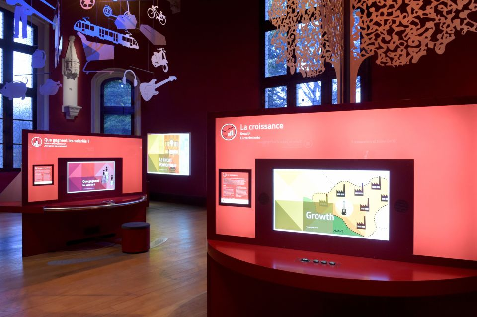 One of the exhibitions at Citéco.