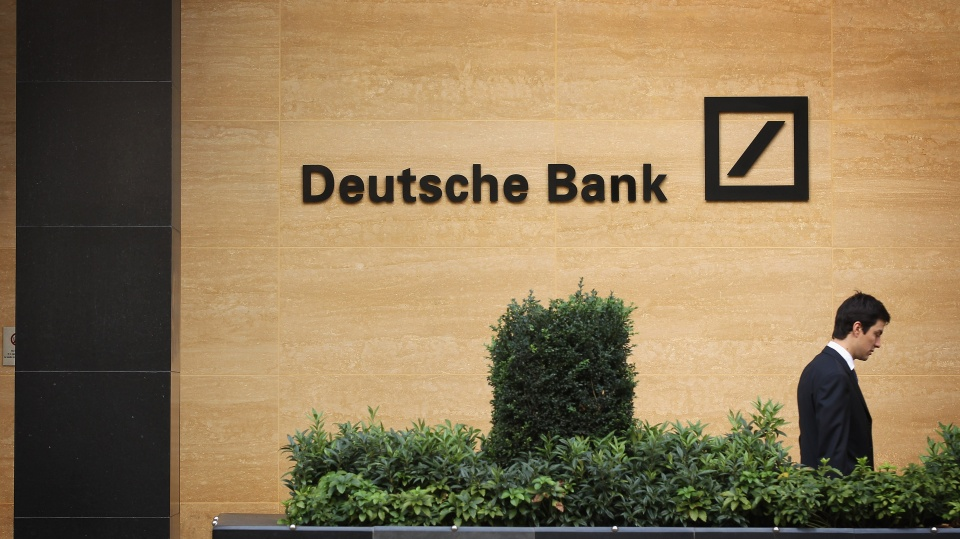 A general view of Deutsche Bank in 2011 in London, England.