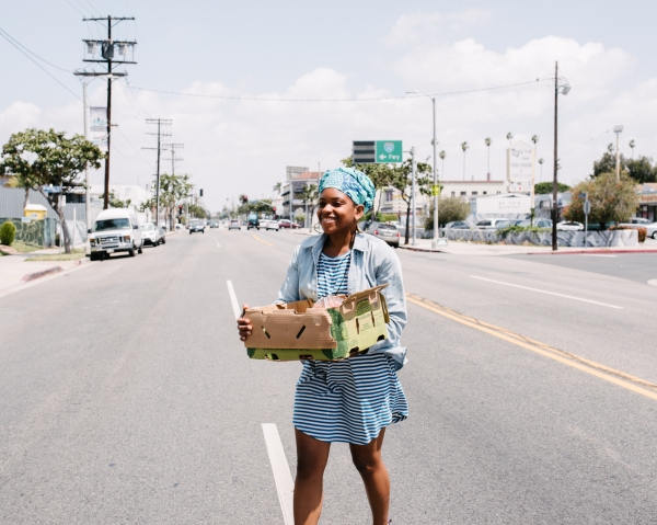 Bringing fresh food to an L.A. food desert, one produce box at a time