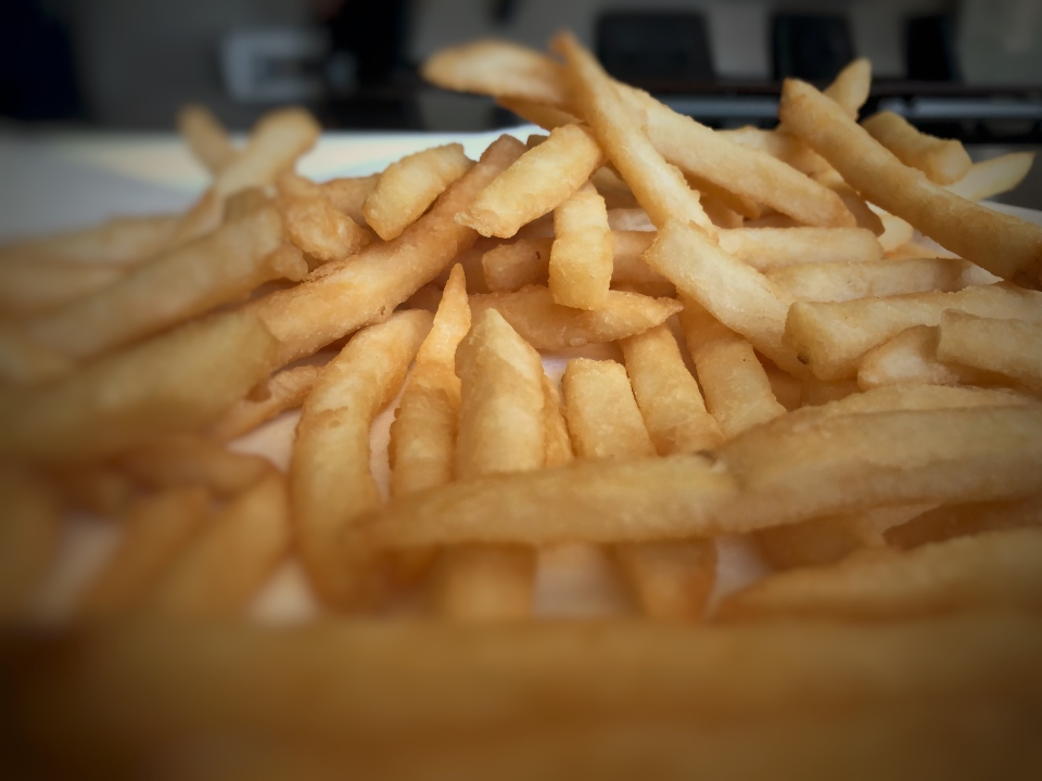 Freshly cooked fries made by potato-processing giant Lamb Weston. The company has been working on ways to keep fries crisp during delivery.