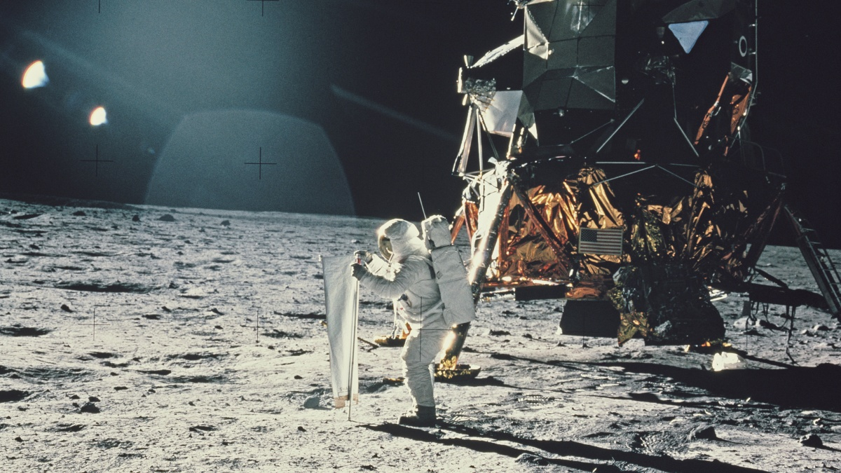 The moon landing was a giant leap for Silicon Valley - Marketplace