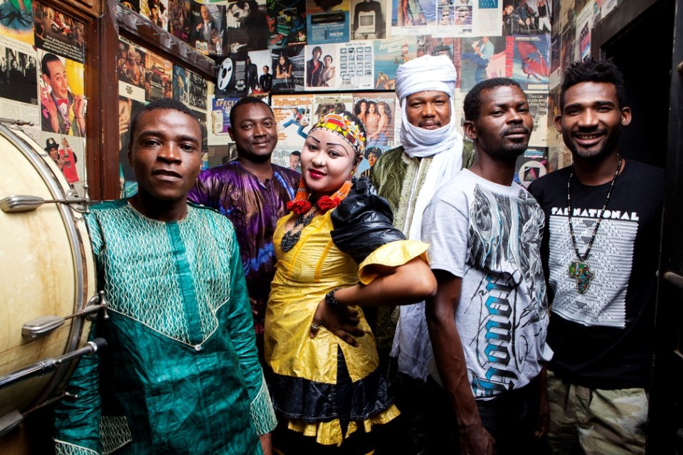 West African rock band Tal National.