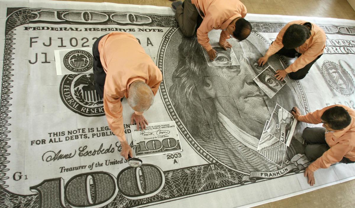 What makes the dollar strong?