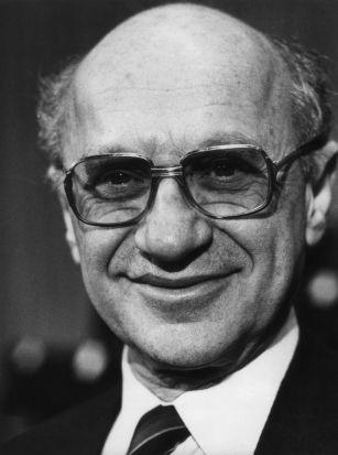 Milton Friedman, 1976 Nobel Prize laureate for economics