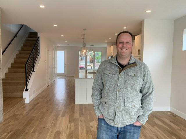 Developer Jay Feaster has built several modern duplexes, like this one, in Denver.