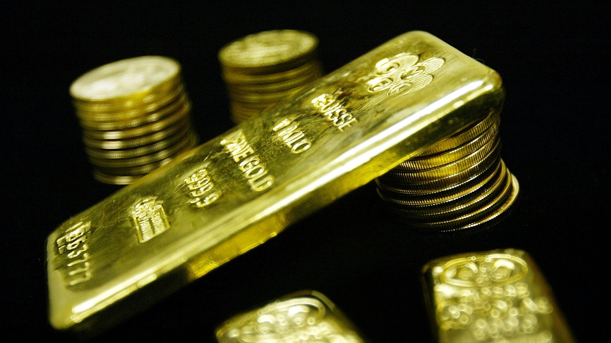 Investors have been piling into gold this year