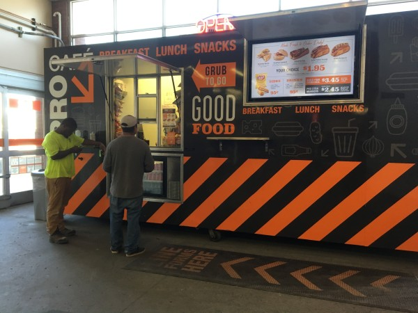 Stores Offering Food Options To Attract Customers Marketplace