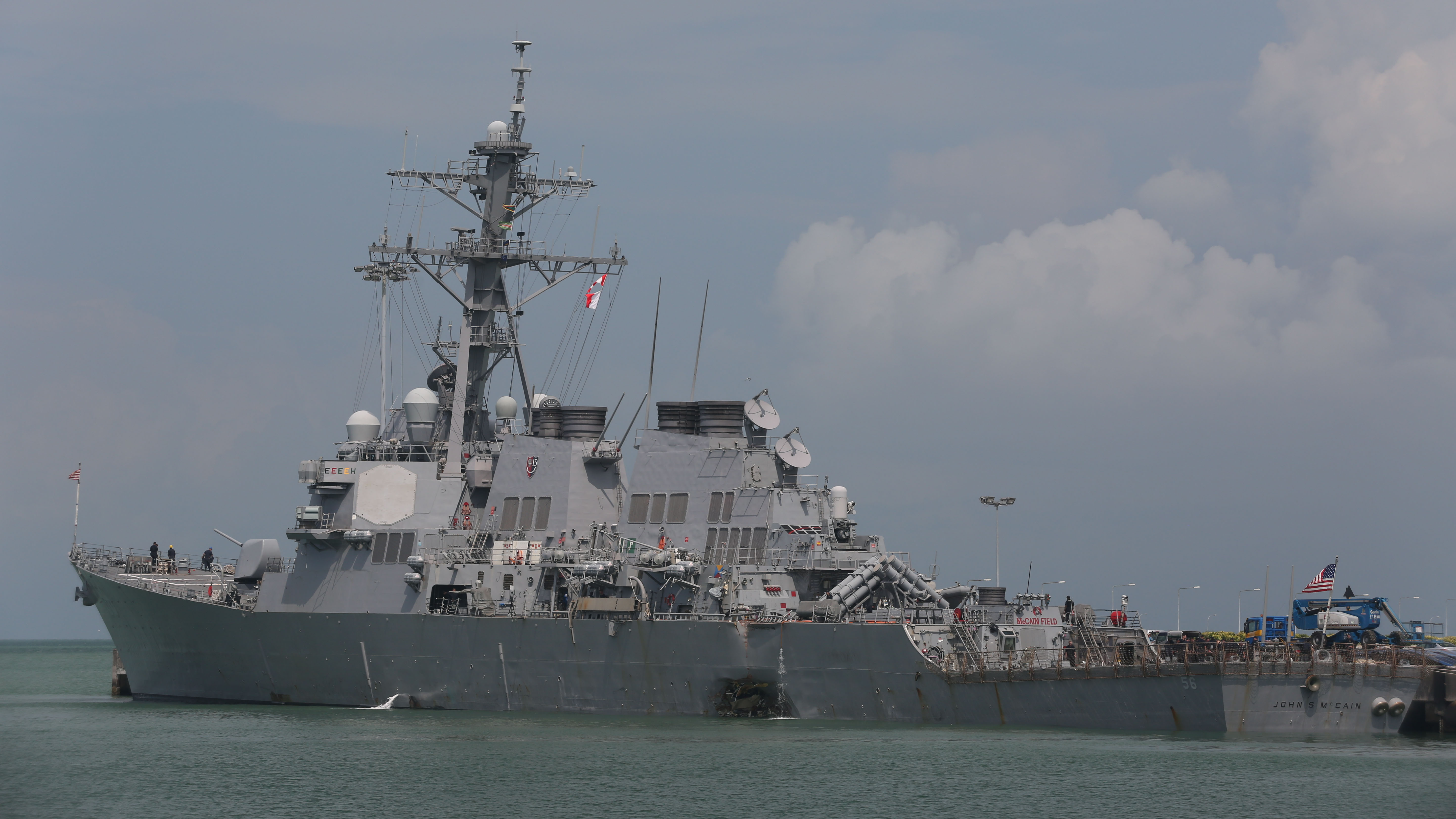 For U.S. Navy destroyers, old controls might be safer than new tech