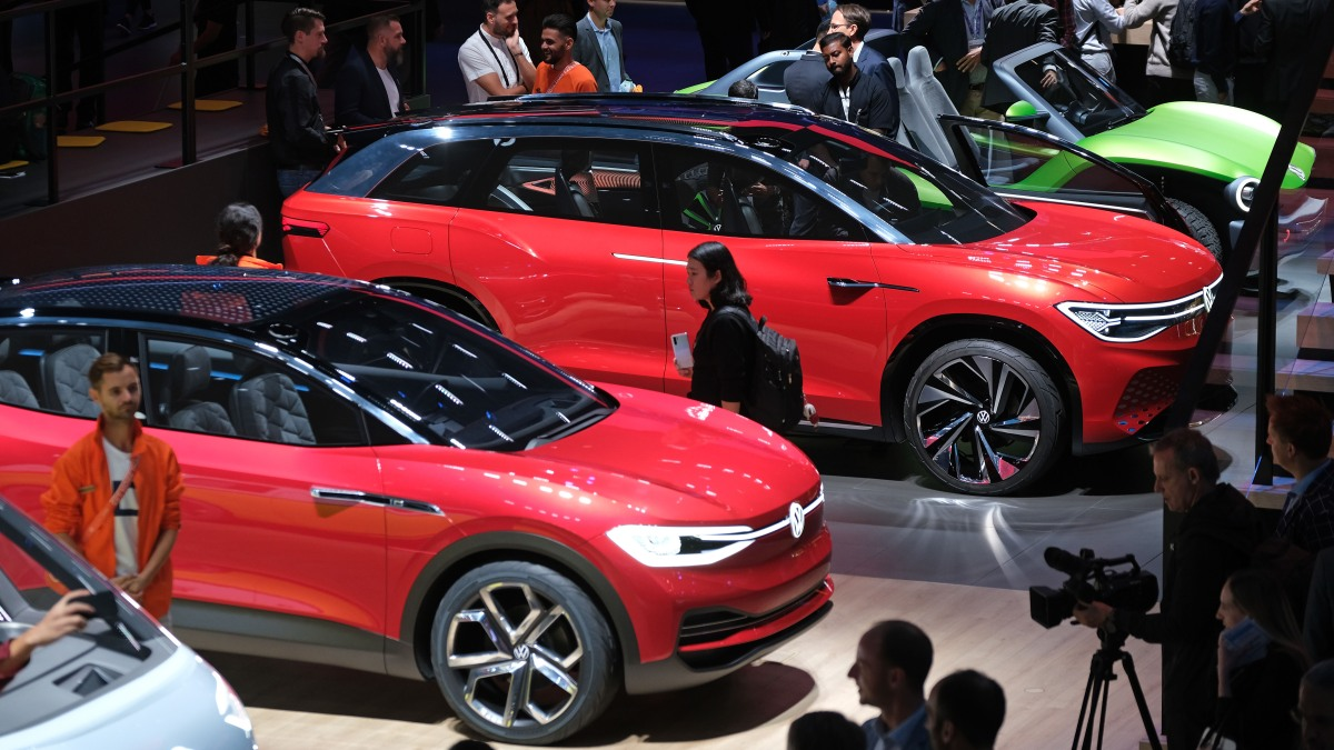 Drivers wanted: EVs are all over the Frankfurt Motor Show