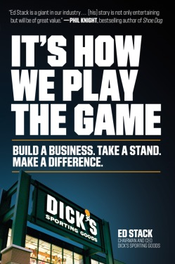 """It's How We Play The Game"" book jacket."