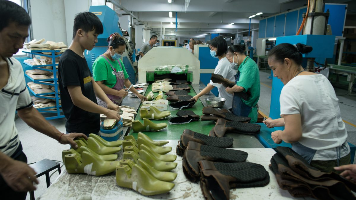 The Chinese workers who make your shoes