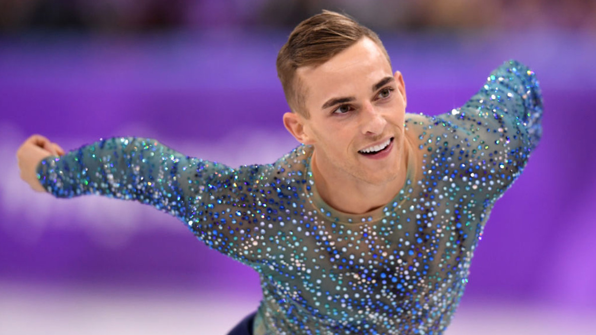 Figure skater Adam Rippon on his early days and financial struggles