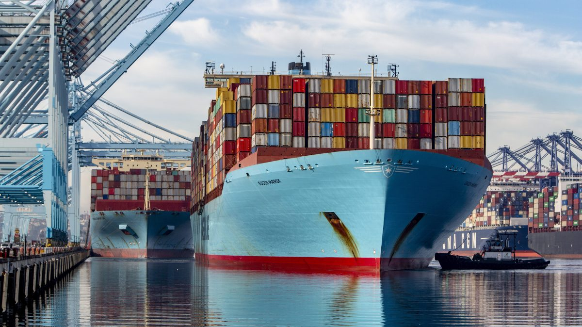 """A view of the trade war from """"America's Port"""""""