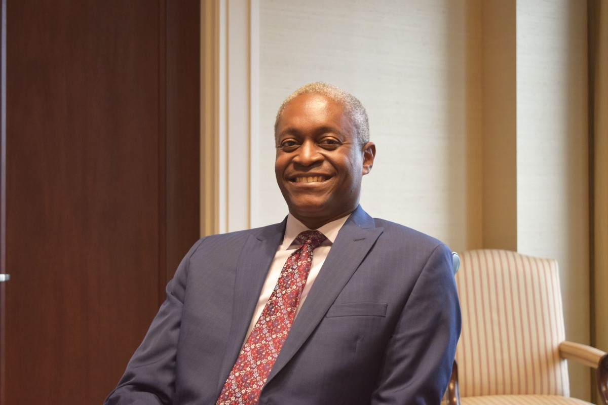 "Atlanta Fed president: ""Slower [economy] doesn't necessarily portend a crisis"""