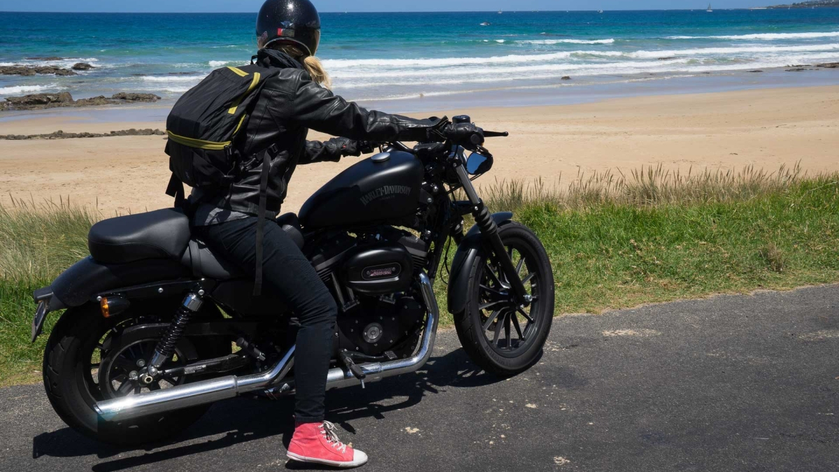 When it comes to the motorcycle industry, the future is female