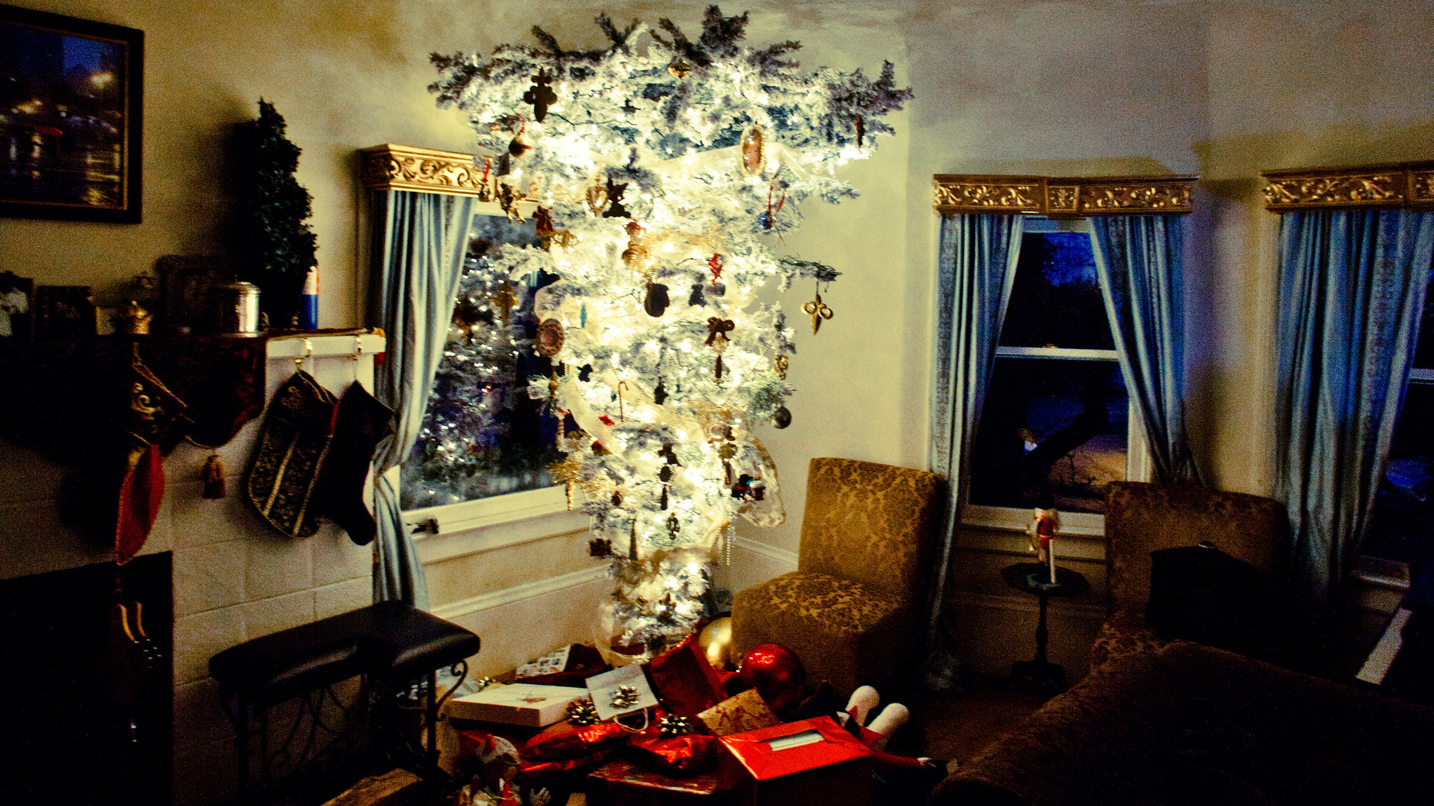 The Upside Down Christmas Tree What S It All About Marketplace