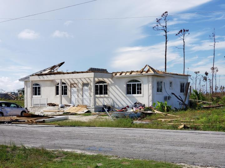 A Bahamian island works to recover from Hurricane Dorian