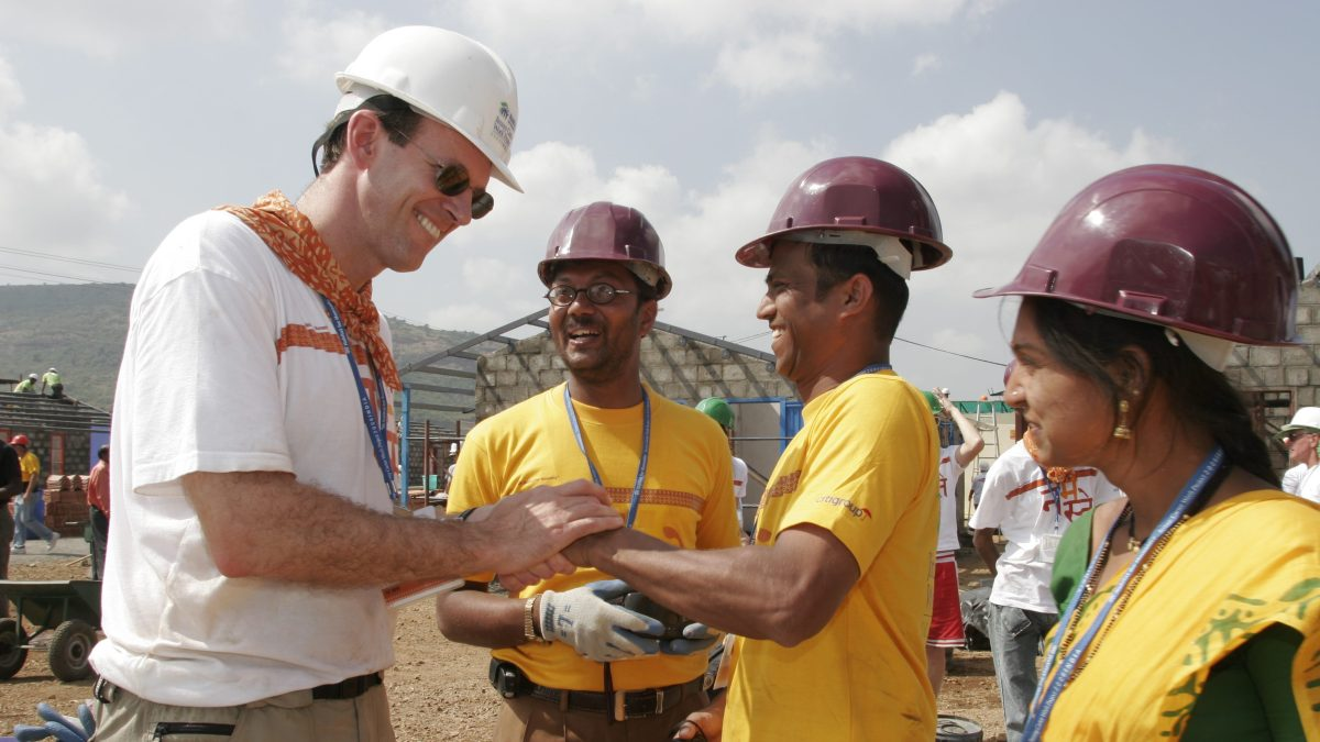 What CEOs learned while volunteering with Habitat for Humanity in India