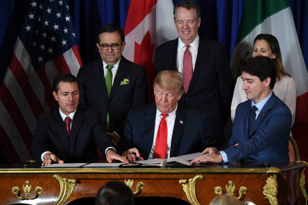Congress just passed the USMCA. Now it's Canada's turn.