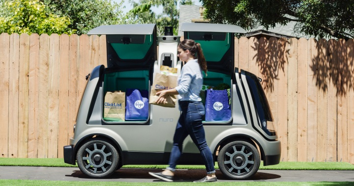 Driverless delivery vehicles are now allowed on California streets