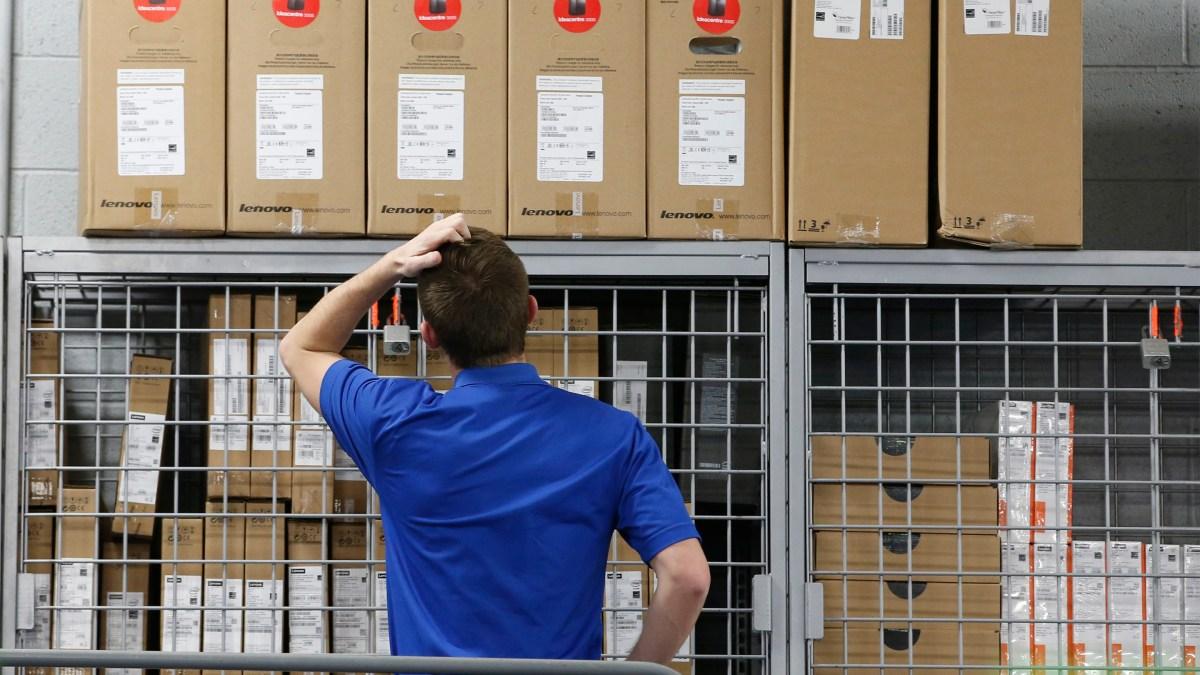 Business inventories decline, the largest dip since 2017