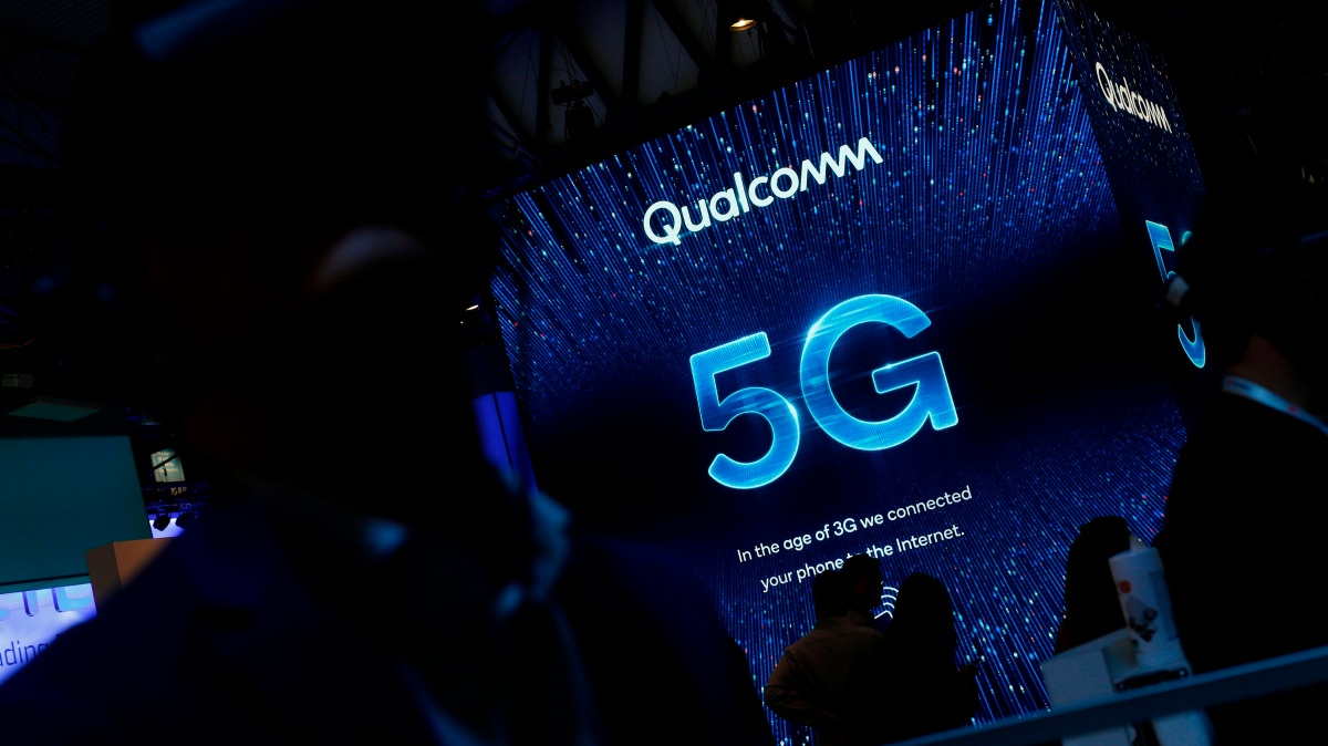 Qualcomm is at the center of 5G. We're still, almost, there.