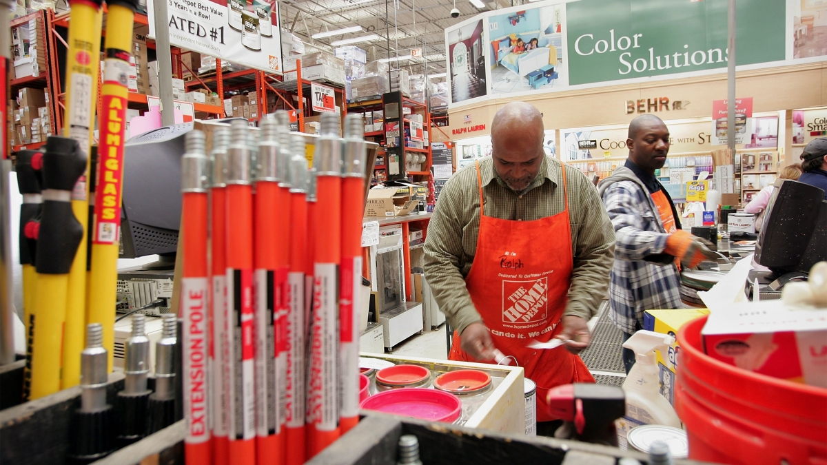 Mild winter and revamp investments boost Home Depot - Marketplace