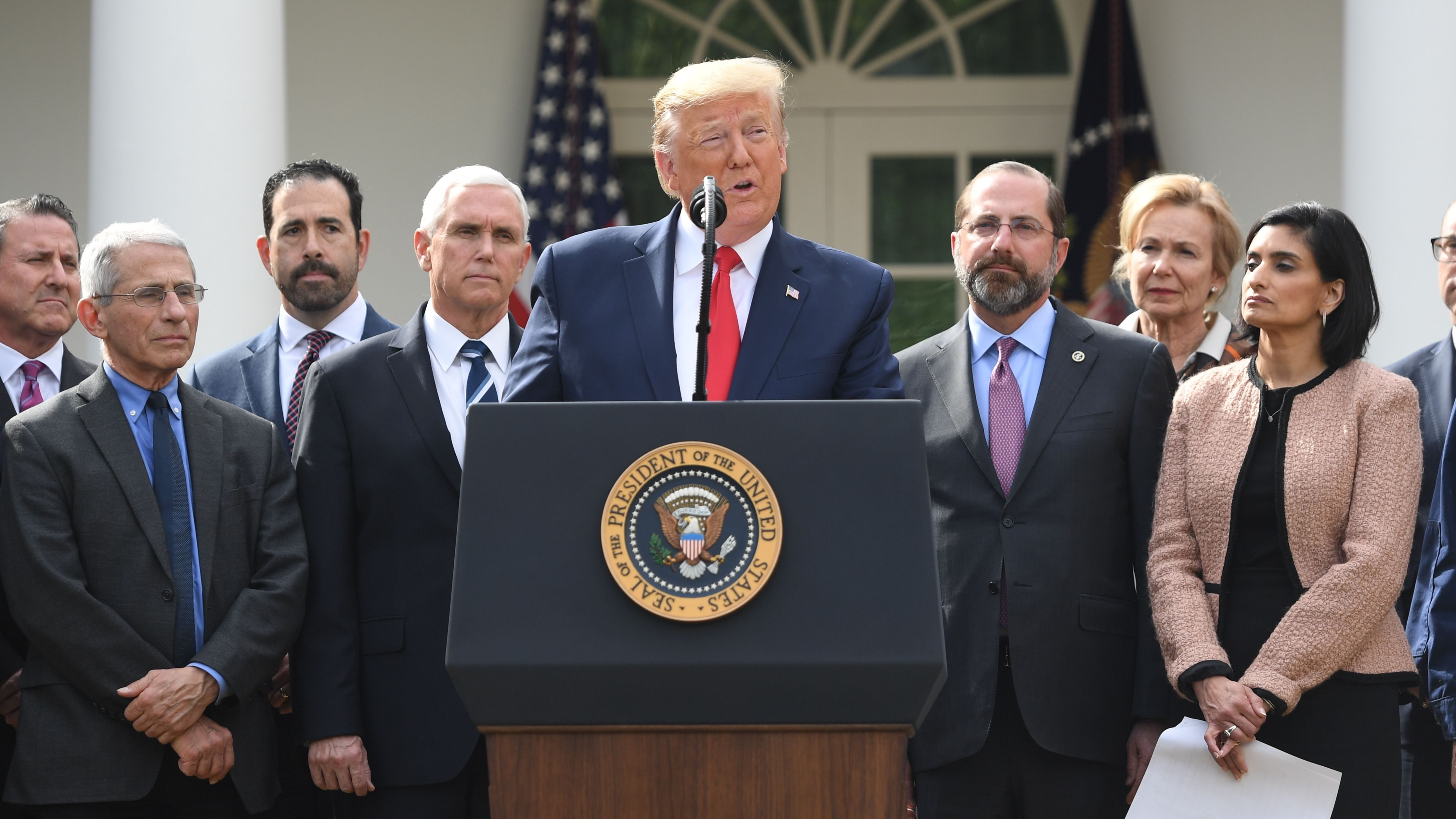 Trump declares national emergency over COVID-19 - Marketplace