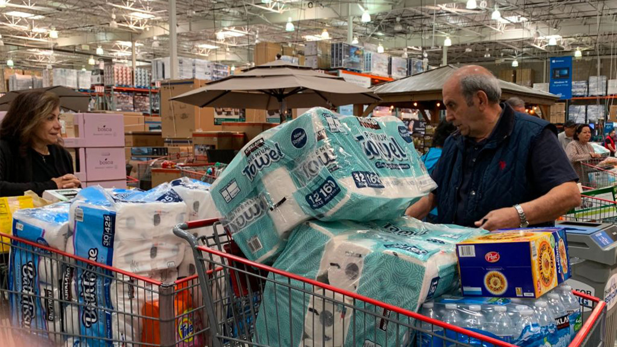 Why are people stockpiling toilet paper? - Marketplace