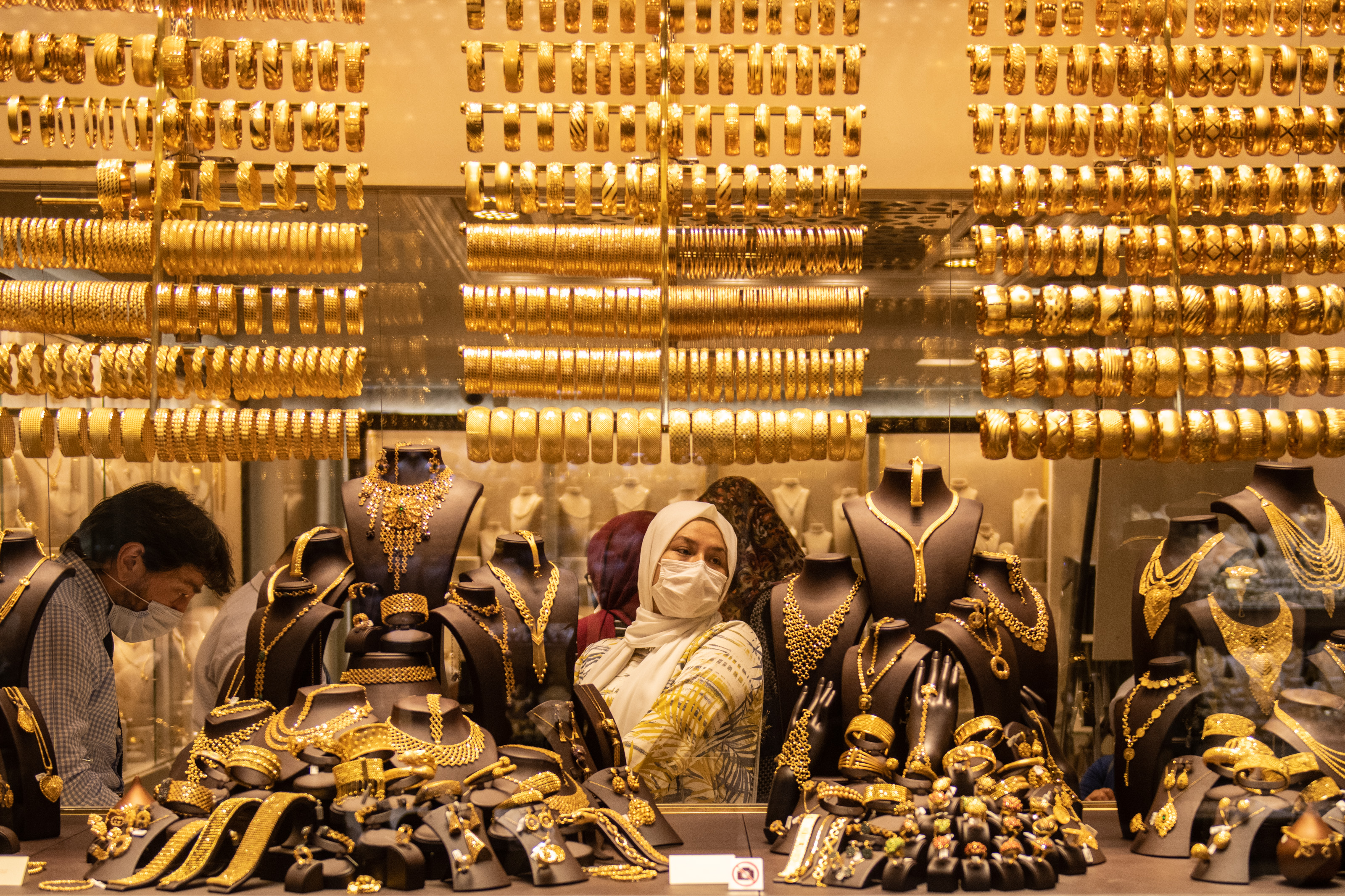 A gold rush means nothing good for this economy