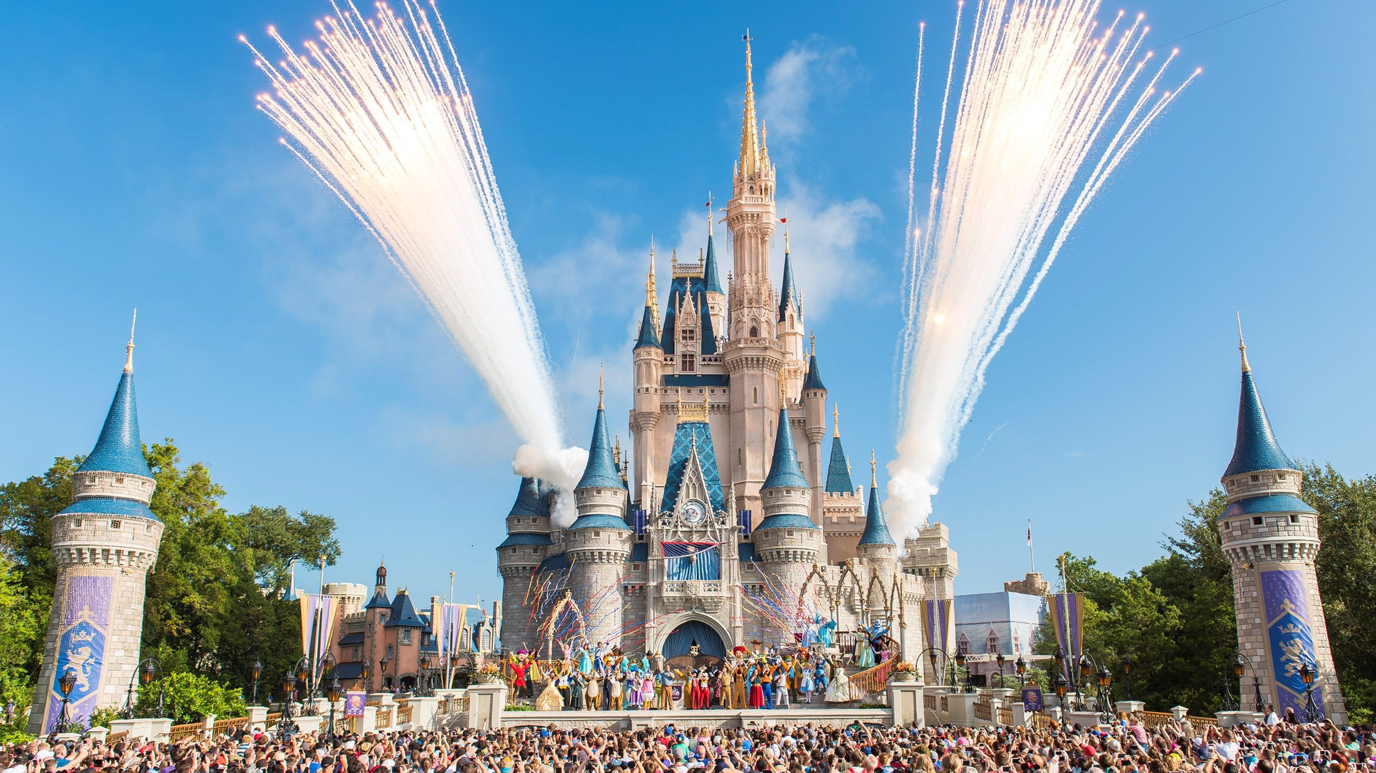 Why are some of the Disney theme parks opening while others remain closed  as COVID-19 surges? - Marketplace