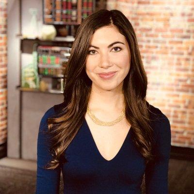 Une photo de Sarah Frier, journaliste technique senior chez Bloomberg News.