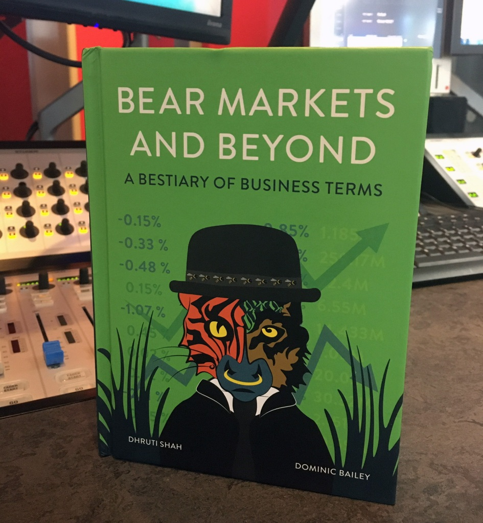"""The cover of the book """"Bear Markets and Beyond"""" by Dhruti Shah."""