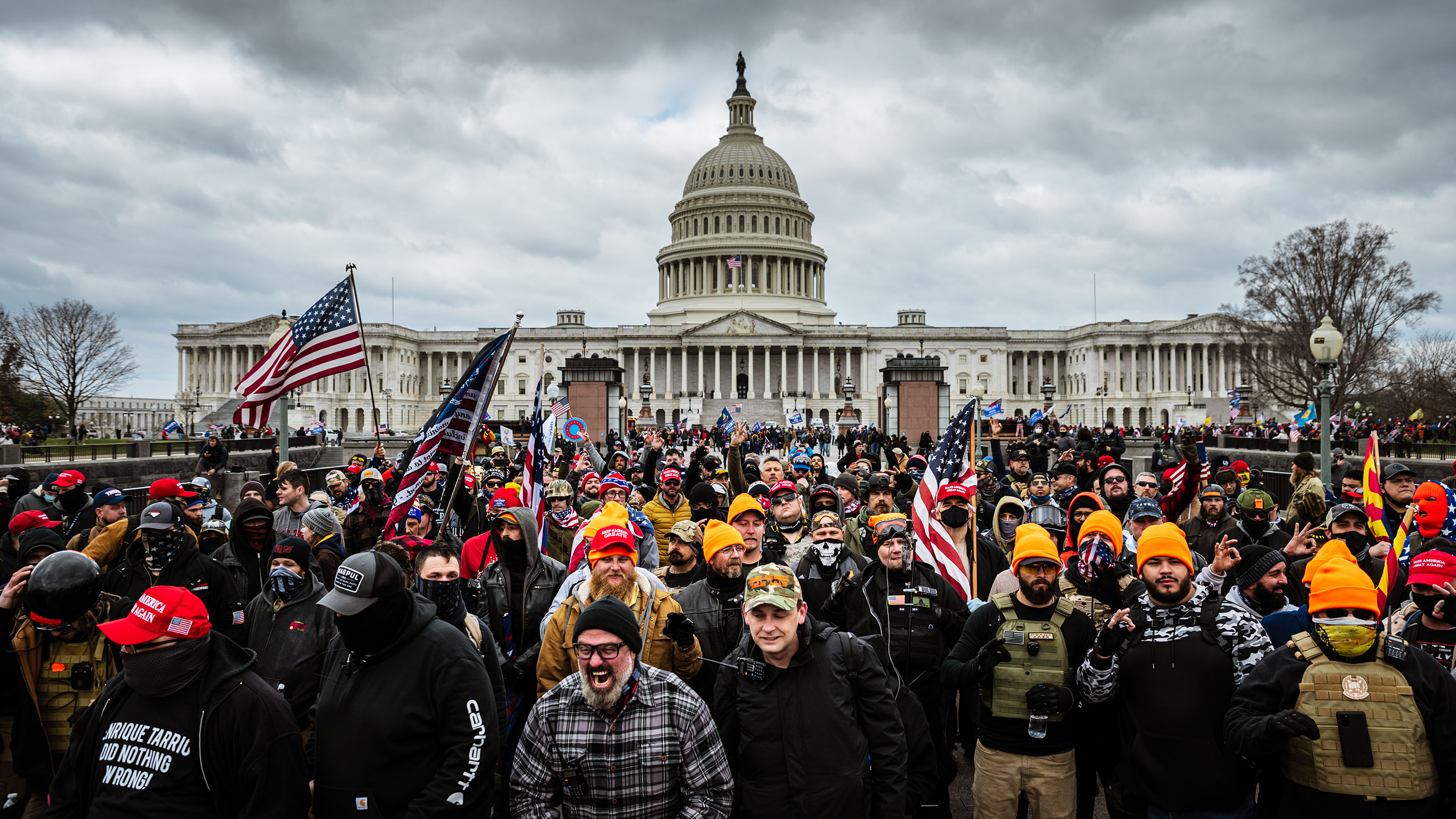 How the Capitol insurrection affects those who live and work in Washington  - Marketplace