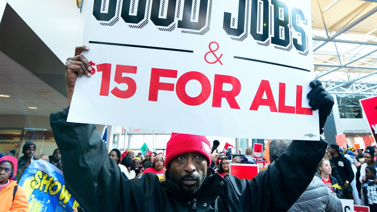 Listen: What a $15-per-hour federal minimum wage could do