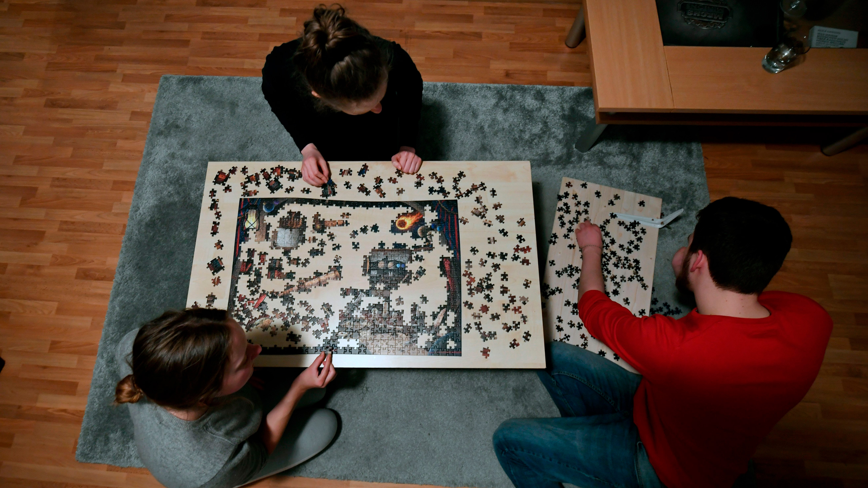 Jigsaw puzzles are a quarantine hit. This puzzle-maker hopes that continues  after the pandemic. - Marketplace