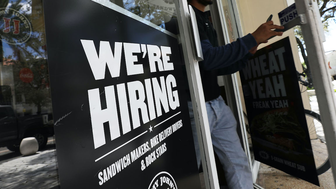 Making sense of a disappointing jobs report
