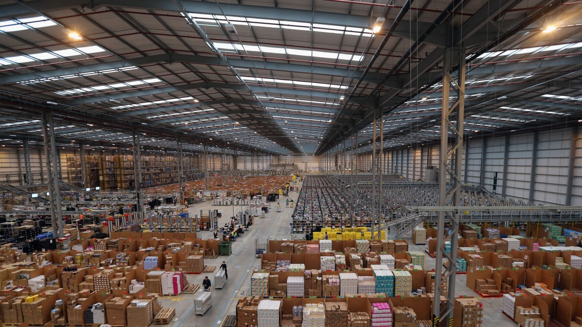 Warehouse space in high demand as e-commerce booms - Marketplace