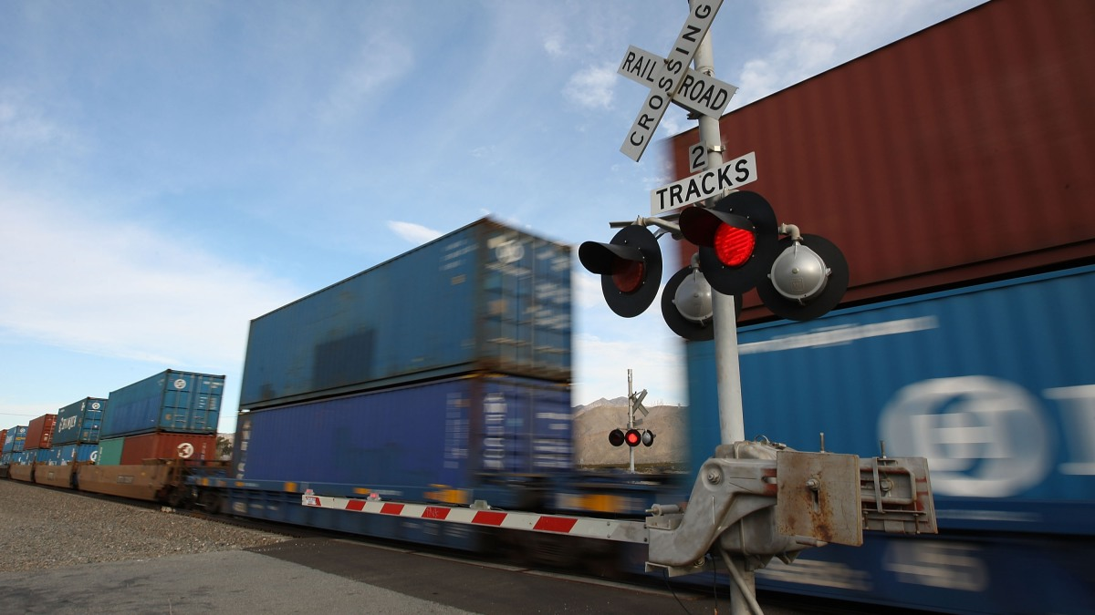 Is the economy on track? Freight trains might clue us in. - Marketplace