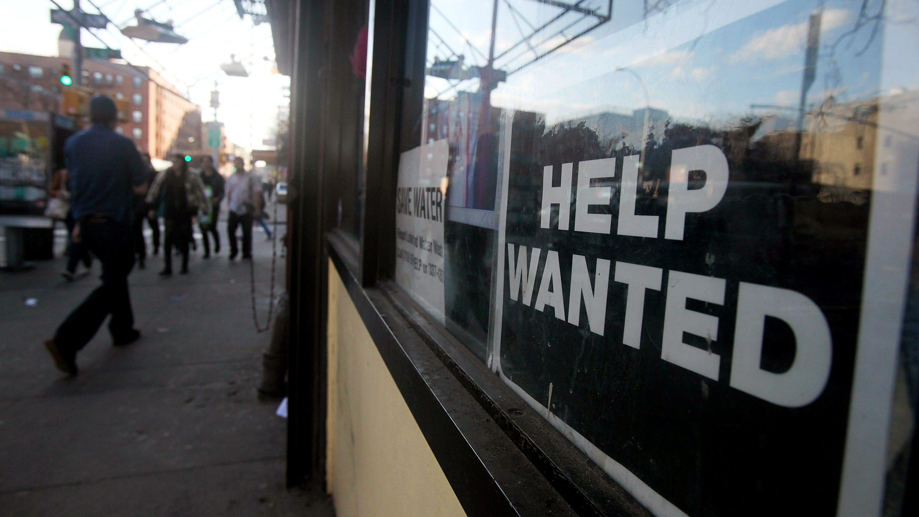 Teens to the (job market) rescue
