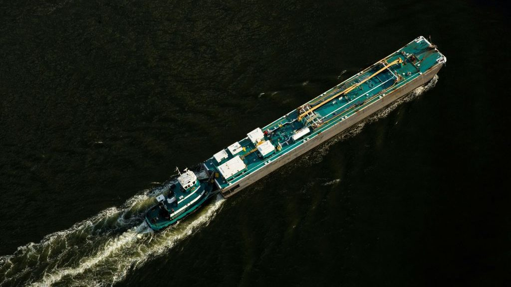 In the barge business, vaccinating the crew remains key - Marketplace